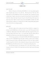 Khảo sát yếu tố dịch tễ học BLVMTĐ tại Bệnh viện mắt Thành phố Hồ Chí Minh, từ 1/1/2001 đến 31/12/2003