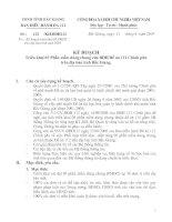 Kế hoạch Triển khai 03 Phần mềm dùng chung của BĐH Đề án 112 Chính phủ trên địa bàn tỉnh bắc giang