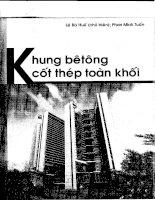 Khung Betong Cot Thep Toan Khoi - Le Ba Hue