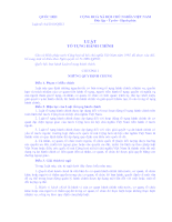 Luật tố tụng hành chính