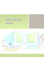 Side-Channel Attacks