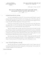 Báo cáo hội đồng quản trị công ty cổ phần chứng khoán đại nam