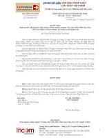 Quyết định phê duyệt kế hoạch ứng dụng công nghệ thông tin vào việc hiện đại hóa thủ tục hành chính trong 6 tháng cuối năm 2012