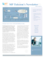 MP Telecom's Newsletter