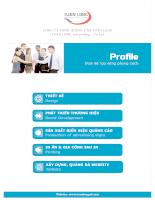 Profile công ty TNHH quảng cáo tuấn long
