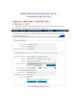 Hướng dẫn sử dụng các dịch vụ thuonghieuonline.info