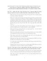 XÂY DỰNG VÀ HOÀN THIỆN CHƯƠNG TRÌNH ĐÀO TẠO  NGÀNH QUẢN TRỊ KINH DOANH BẬC CỬ NHÂN Ở VIỆT NAM