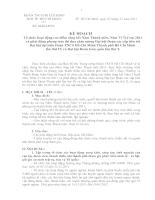 64/KH-ĐTN: Tổ chức hoạt động cao điểm tổng kết Năm Thanh niên, Năm Vì Trẻ em 2011 và phát động phong trào thi đua chào mừng Đại hội Đoàn các cấp tiến tới Đại hội đại biểu Đoàn TNCS Hồ Chí Minh Thành phố Hồ Chí Minh  lần thứ IX và Đại hội Đoàn toàn quốc lầ
