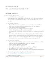 Bài Thực Hành số 4 Môn học : Kiến trúc và cài đặt DBMS
