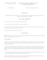 280/QĐ-TTg: QUYẾT ĐỊNH PHÊ DUYỆT ĐỀ ÁN PHÁT TRIỂN VẬN TẢI HÀNH KHÁCH CÔNG CỘNG BẰNG XE BUÝT GIAI ĐOẠN TỪ NĂM 2012 ĐẾN NĂM 2020