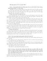Bài tập quản lí nhà nước và luật cán bộ công chức