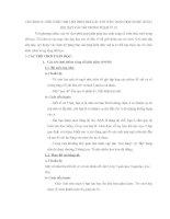 TRÒ CHƠI CÂU CHUYỆN TOÁN HỌC ĐƯỢC DÙNG KHI DẠY CÁC SỐ TRONG PHẠM VI 10