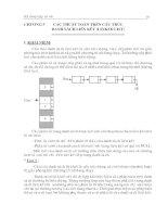 Các thuật toán trên cấu trúc, danh sách liên kết