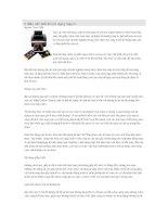 5 điều cần biết khi sử dụng máy in