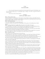Những quy định chung của luật doanh nghiệp