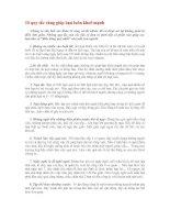 10 quy tắc vàng giúp bạn luôn mạnh khỏe
