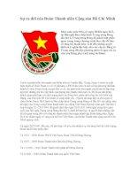 Sự ra đời của Đoàn TNCS Hồ Chí Minh