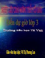 Tap doc- Tieng ru