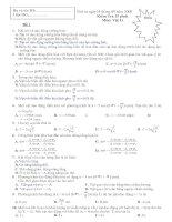 kiểm tra 15-dao động cơ