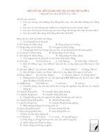 Một số câu hỏi trắc nghiệm và bài tập Vật lý 8 kỳ 2