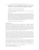 Tolerance Level of Dissolved Oxygen to Feed into Anaerobic Ammonium Oxidation (anammox) Reactor
