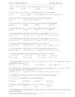 50 Câu trắc nghiệm hình ( có đáp án gạch dưới)