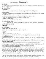BÀI VIẾT SỐ 3 - LỚP 11