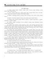 Ôn Lý Thuyết Hóa 12. Phần 2