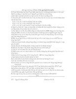 Bài tập sinh học 9.I