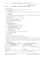 SỐ HỌC 6 - TIẾT 20 - DẤU HIỆU CHIA HẾT CHO 2, CHO 5