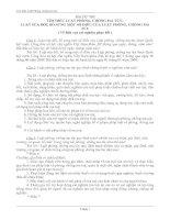 Bài thi tìm hiểu Luật phòng chống Ma tuý