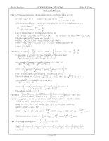 Hướng dẫn giải đề thi thử đại học môn toán đề số 31