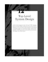 Top-Level System Design