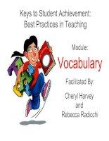 game to teach vocabulary