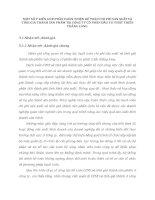 MỘT SỐ Ý KIẾN GÓP PHẦN HOÀN THIỆN KẾ TOÁN CHI PHÍ SẢN XUẤT VÀ TÍNH GIÁ THÀNH SẢN PHẨM TẠI CÔNG TY CỔ PHẦN ĐẦU TƯ PHÁT TRIỂN THĂNG LONG