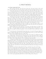 đề tài: Tìm hiểu nội dung và phương pháp dạy cácphéptính nhân, chia số thập phân lớp 5