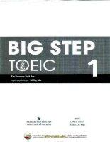 Ebook big step toeic 1