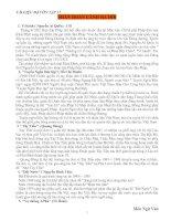 Tài liệu ôn tập môn văn 12