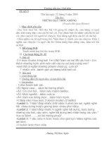 Giáo án 4 - Tuần 5