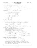 Hướng dẫn giải đề thi thử đại học môn toán đề số 11