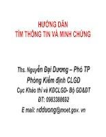 8-HUONG DAN PHANTICHTIEUCHITIM THONG TIN VA MINH CHUNG.ppt