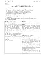 §1: CHƯƠNG TRÌNH BẢNG TÍNH LÀ GÌ?
