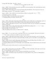 kiểm tra 15 phút hkI lóp 10 A - 2009-2010