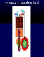 Bài 24 Cơ cấu phân phối khí