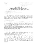 Bản đăng kí phấn đấu rèn luyện của đảng viên, công chức học tập và làm theo tấm gương đạo đức Hồ Chí Minh