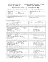 Mẫu biên bản kiểm tra Thư viện trường học 2009-2010