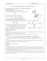 Các phương pháp giải mạch điện 1 chiều (PP2)
