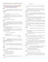 Đại số tổ hợp trong các đề thi ĐH