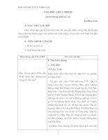 giáo án  Ngữ văn 11 nâng cao- tập 1