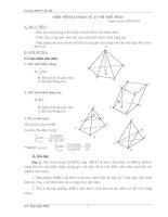 Phương pháp tính thể tích khối đa diện